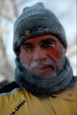 Jay Tuck at Siberian Ice Marathon